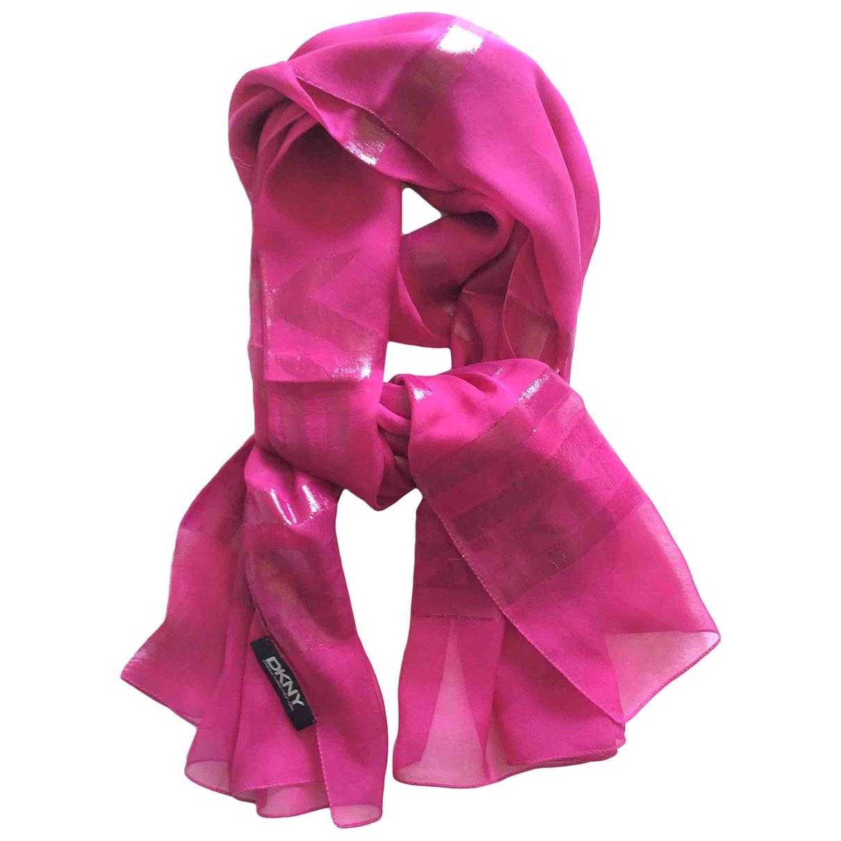 Donna Karan - Foulard   pour femme en soie