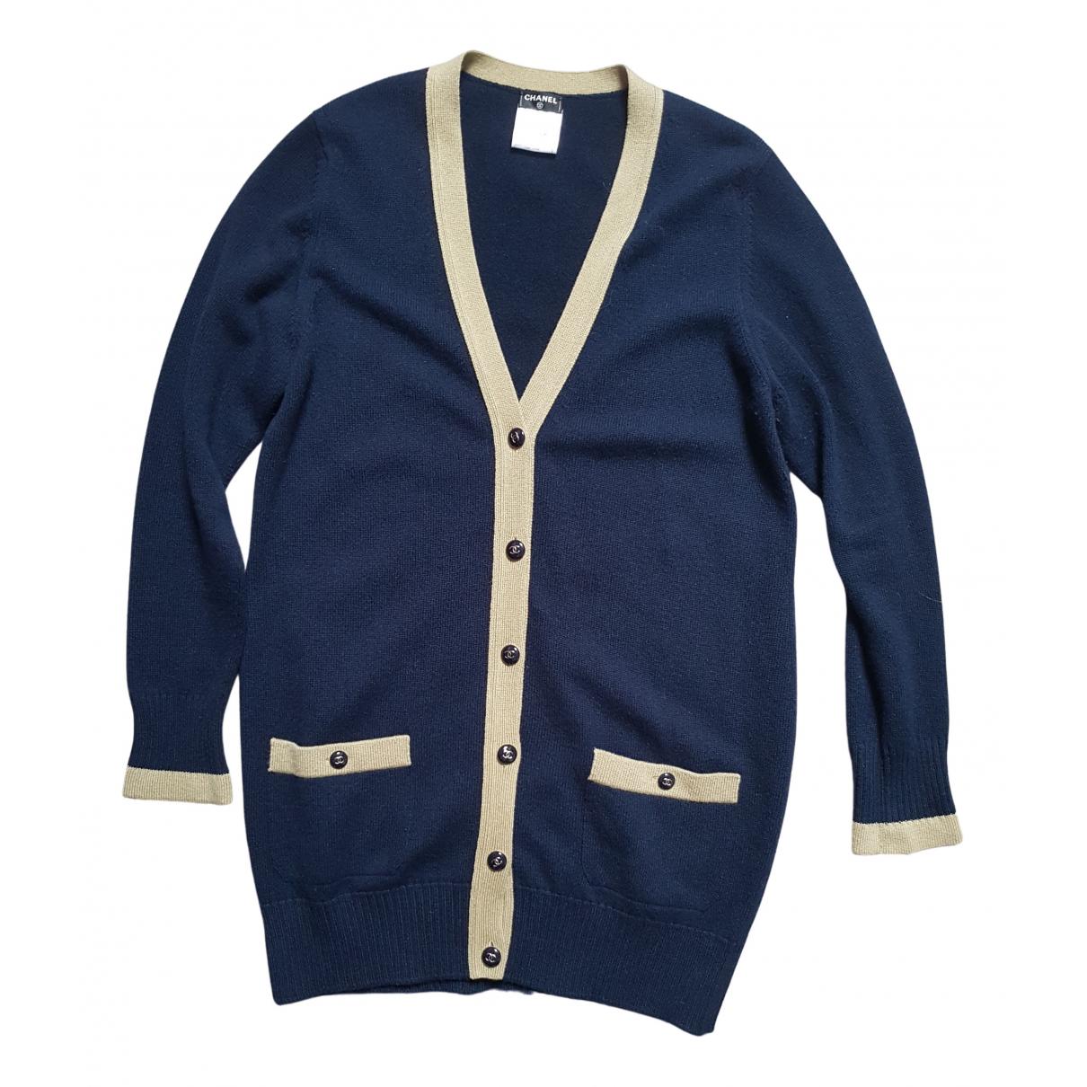 Chanel \N Navy Cashmere Knitwear for Women 44 FR