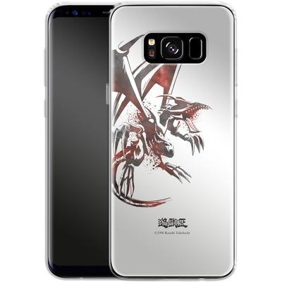 Samsung Galaxy S8 Silikon Handyhuelle - Red-Eyes B. Dragon von Yu-Gi-Oh!