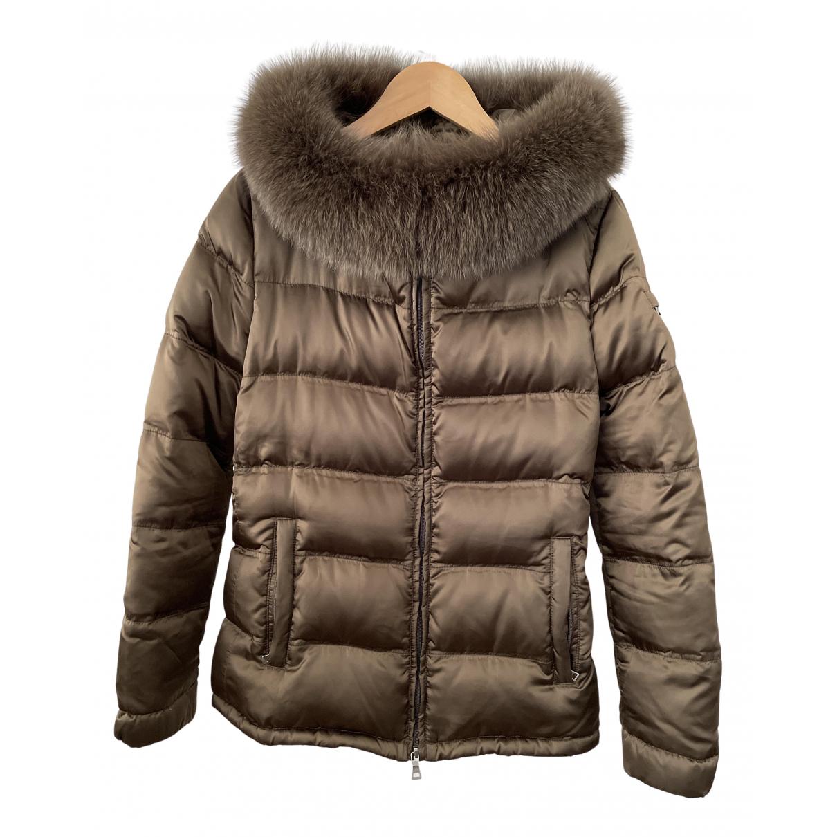 Prada - Manteau   pour femme - marron