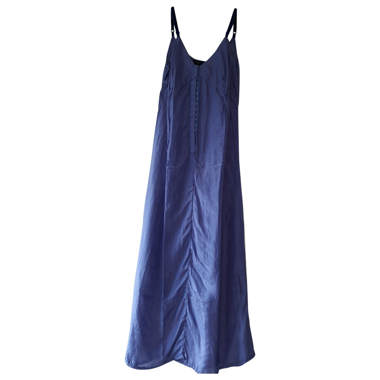Pinko \N Kleid in  Blau Seide