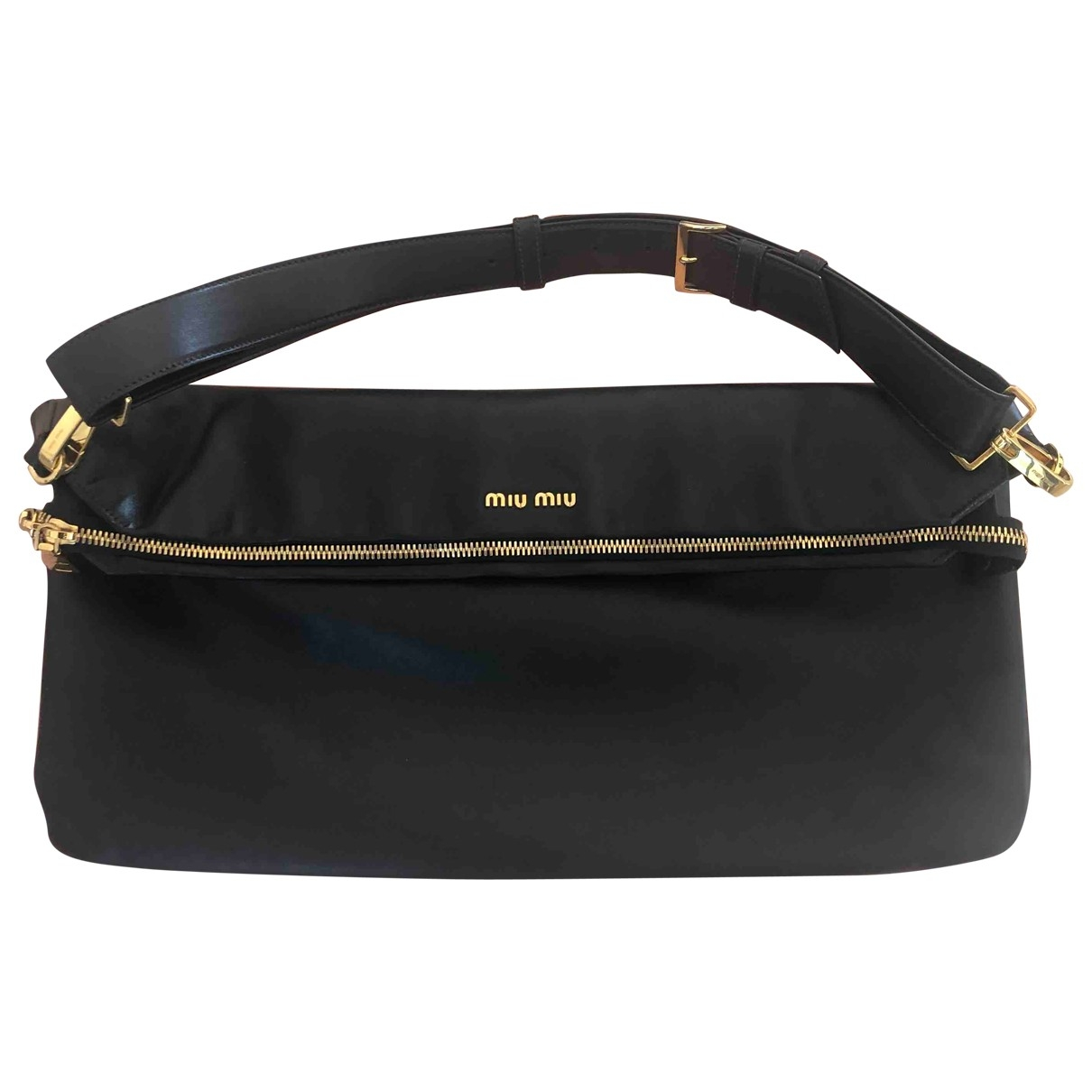 Miu Miu \N Black Cloth Clutch bag for Women \N