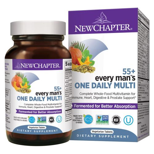 Every Man One Daily 55 Plus 48 Veg Tabs by New Chapter
