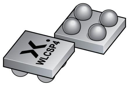 Nexperia N-Channel MOSFET, 6 A, 12 V, 4-Pin WLCSP  PMCM4401VNEAZ (9000)