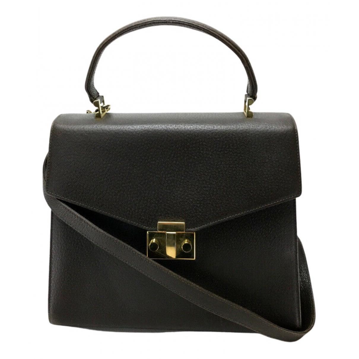 Tiffany & Co \N Handtasche in  Schwarz Leder