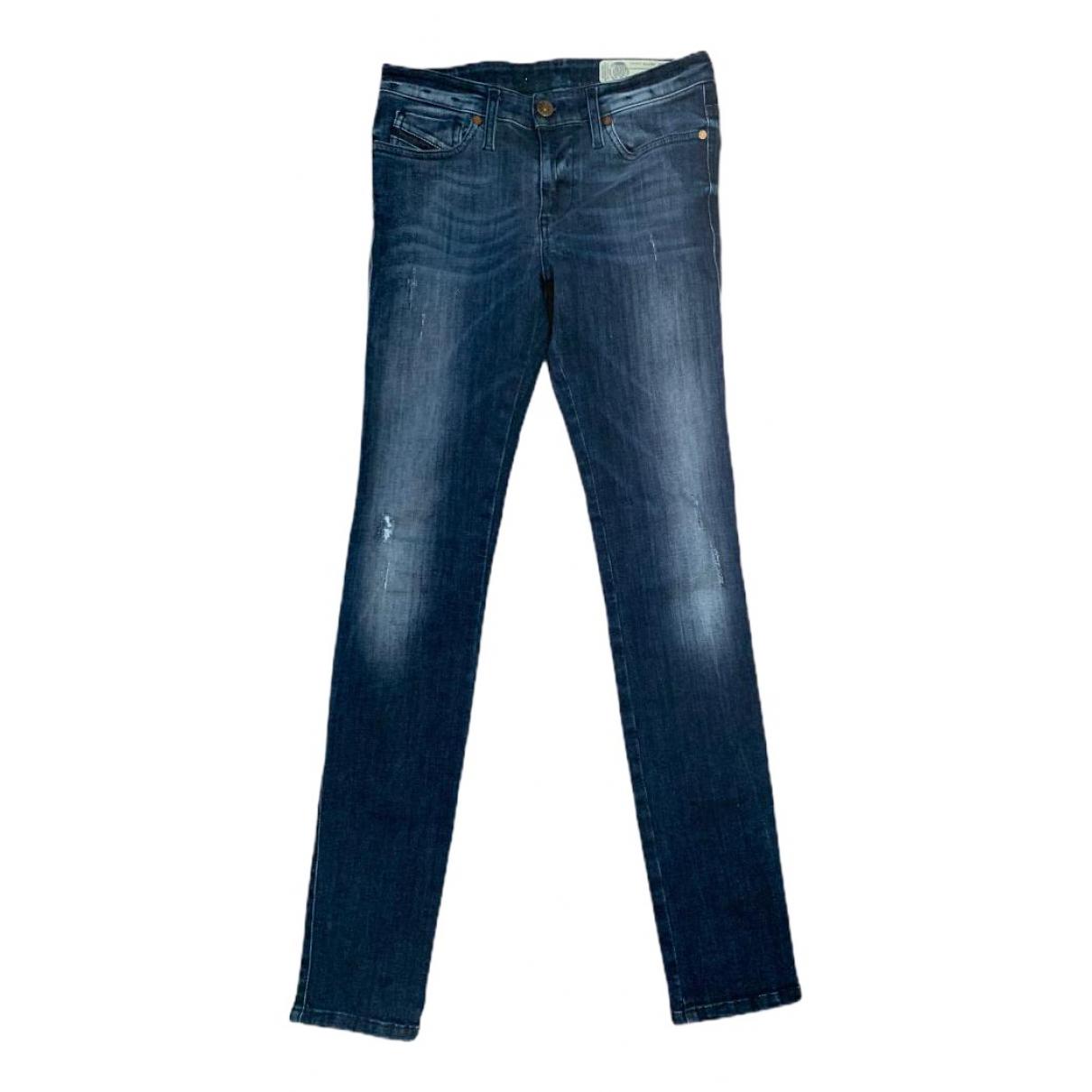 Diesel \N Blue Denim - Jeans Jeans for Women 25 US
