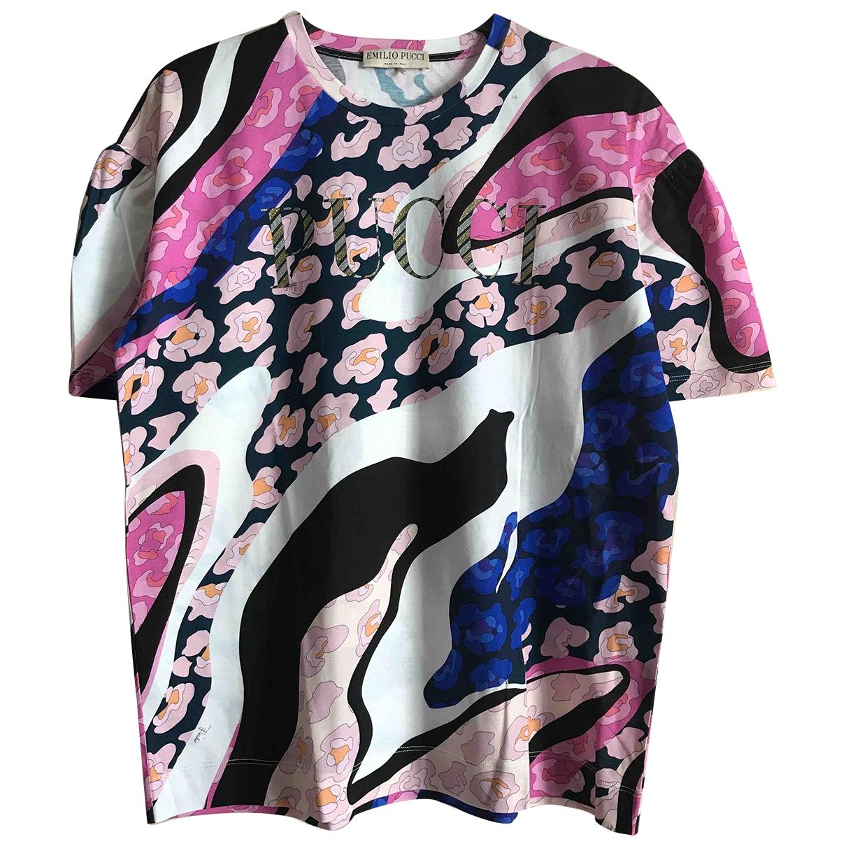 Emilio Pucci \N Multicolour Cotton  top for Women M International