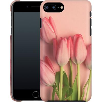 Apple iPhone 7 Plus Smartphone Huelle - Pink Tulips von Joy StClaire