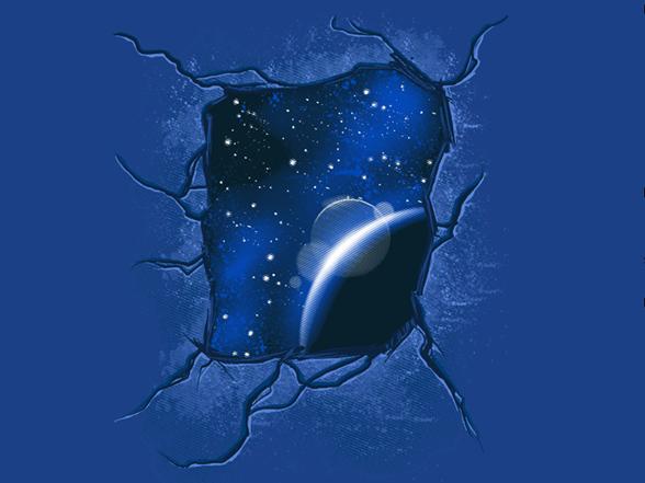 Pocketless Universe T Shirt
