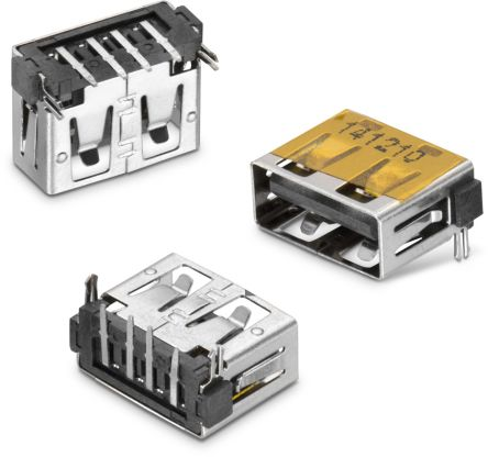 Wurth Elektronik 4 Way Horizontal Memory Card Connector With Solder Termination (400)