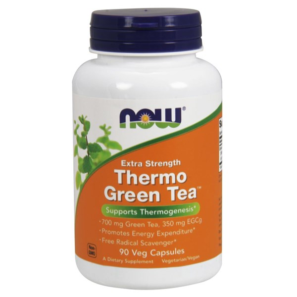 Thermo Green Tea 90 vcaps by Now Foods