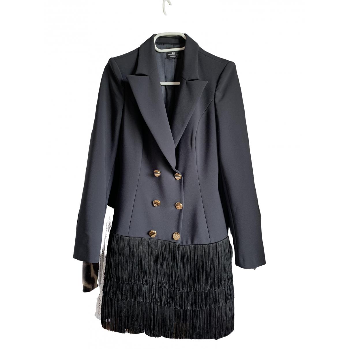 Elisabetta Franchi - Robe   pour femme - bleu