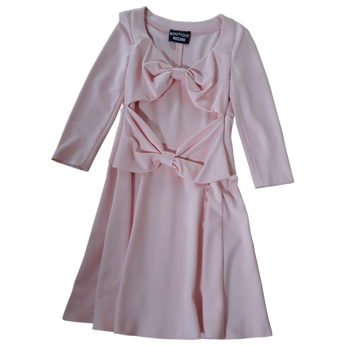 Moschino - Robe   pour femme - rose