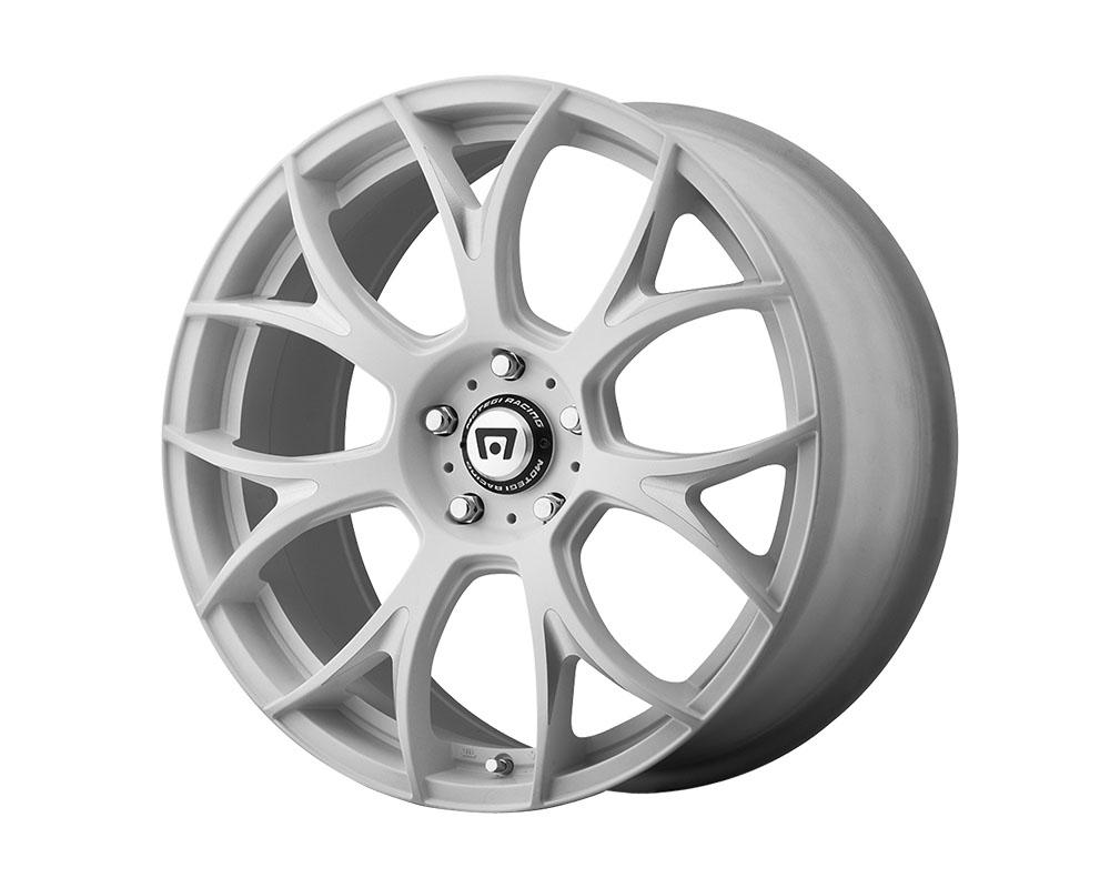 Motegi MR126 Wheel 18x9.5 Blank +40mm Matte White w/Milled Accents