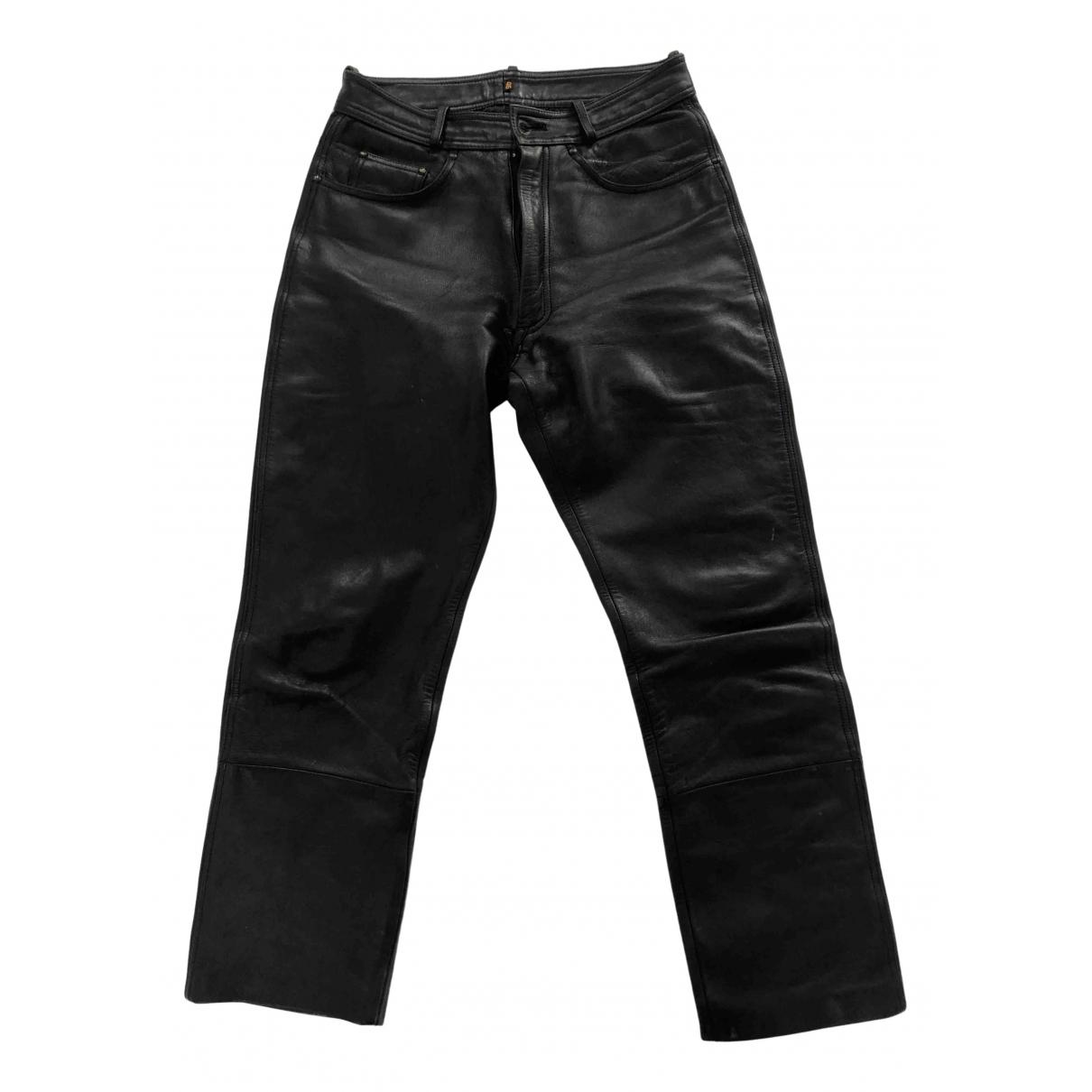 Pantalon de Cuero Non Signe / Unsigned