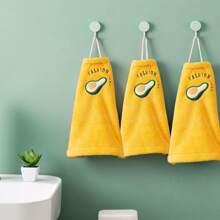 1 pieza toalla de mano con bordado