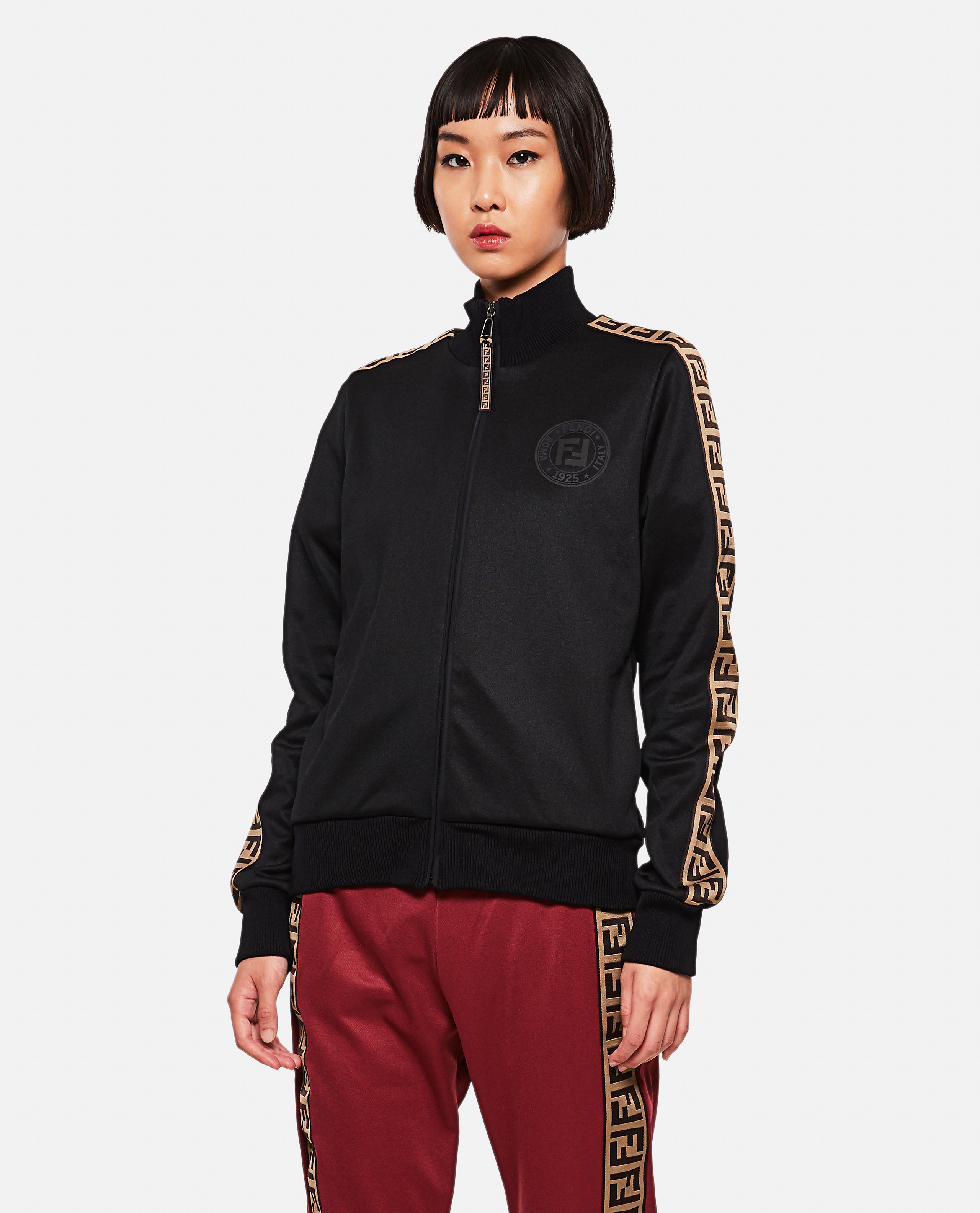 Sports jacket with FF motif