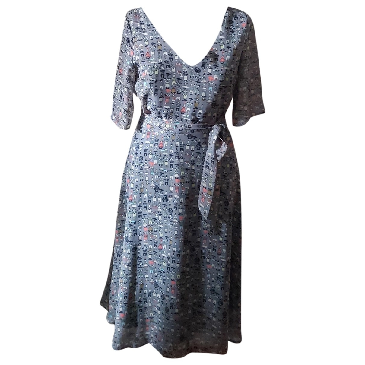 Non Signé / Unsigned \N Multicolour dress for Women 38 FR