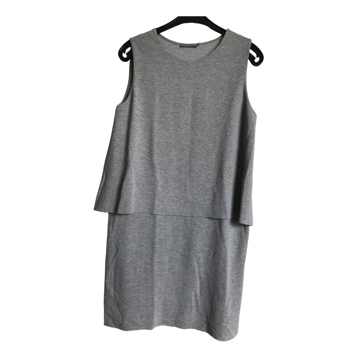 Cos \N Kleid in  Grau Viskose