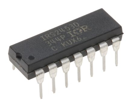 Infineon IRS2453DPBF Quad High and Low Side MOSFET Power Driver, 0.26A 14-Pin, PDIP (2)