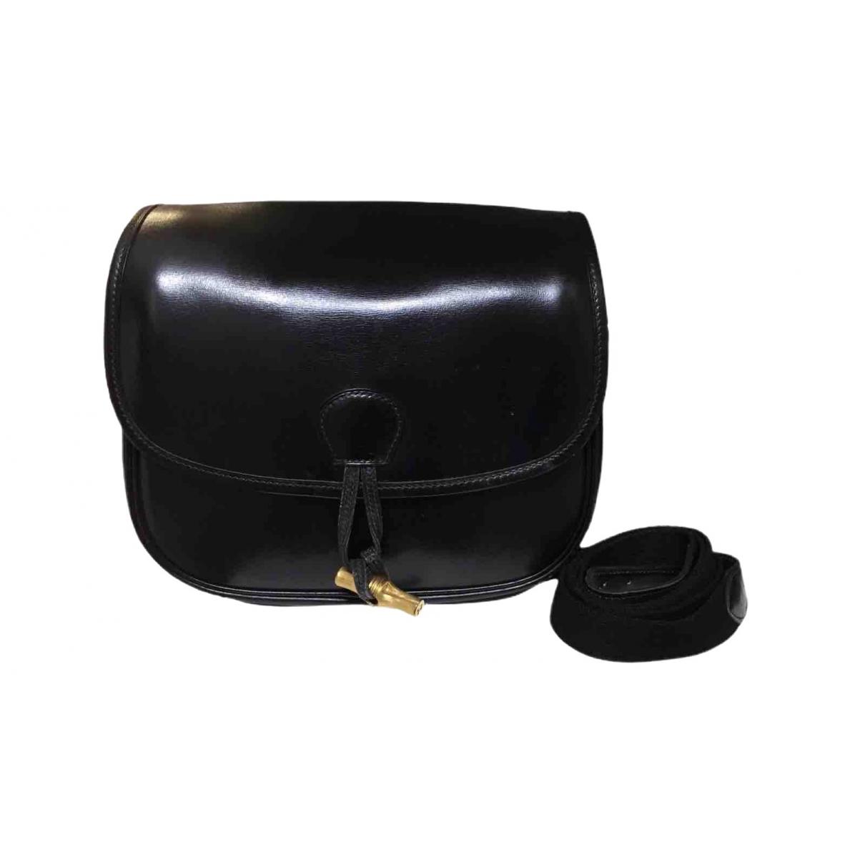 Hermès \N Black Leather handbag for Women \N