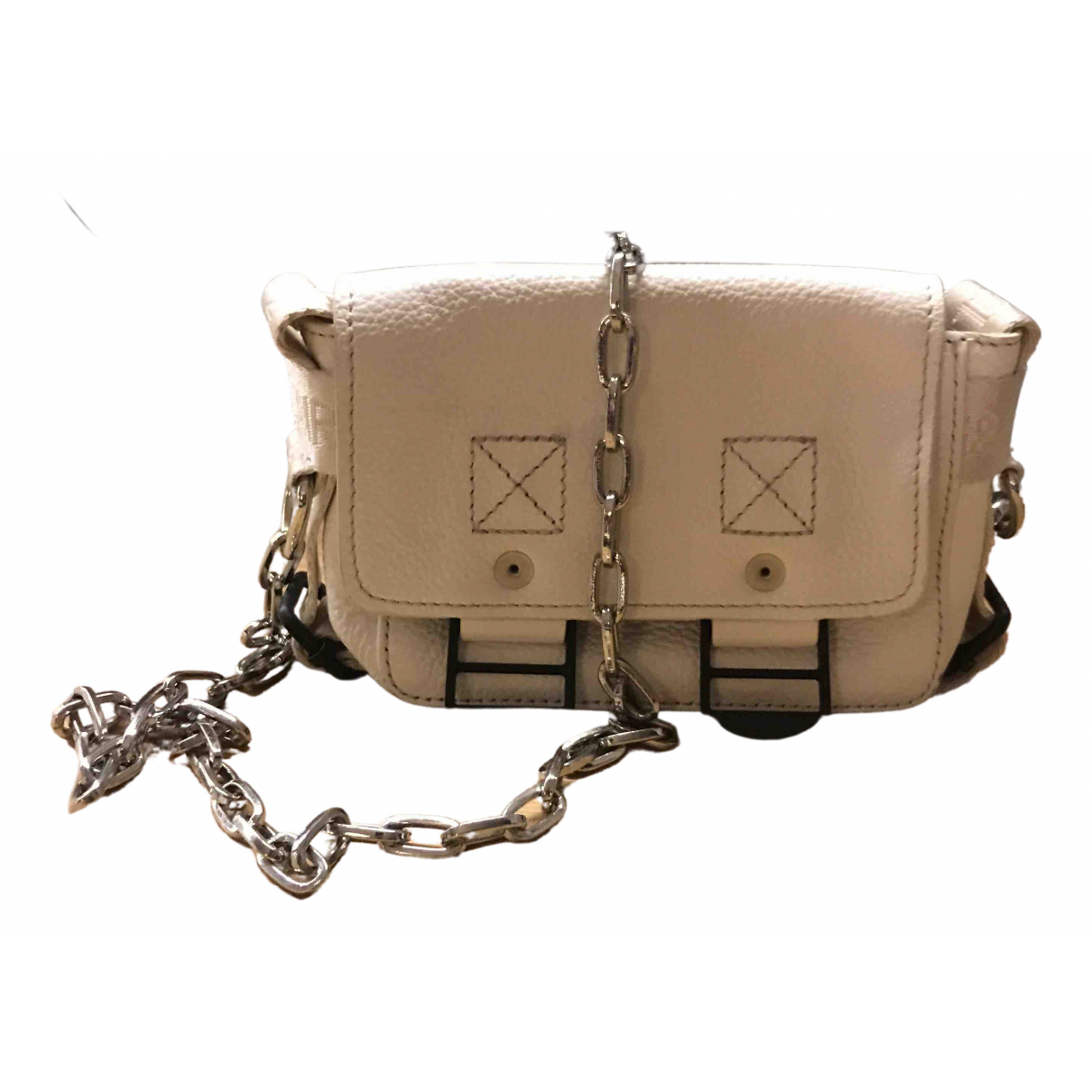 Zadig & Voltaire \N White Leather Clutch bag for Women \N
