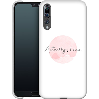 Huawei P20 Pro Smartphone Huelle - Actually, I can von caseable Designs