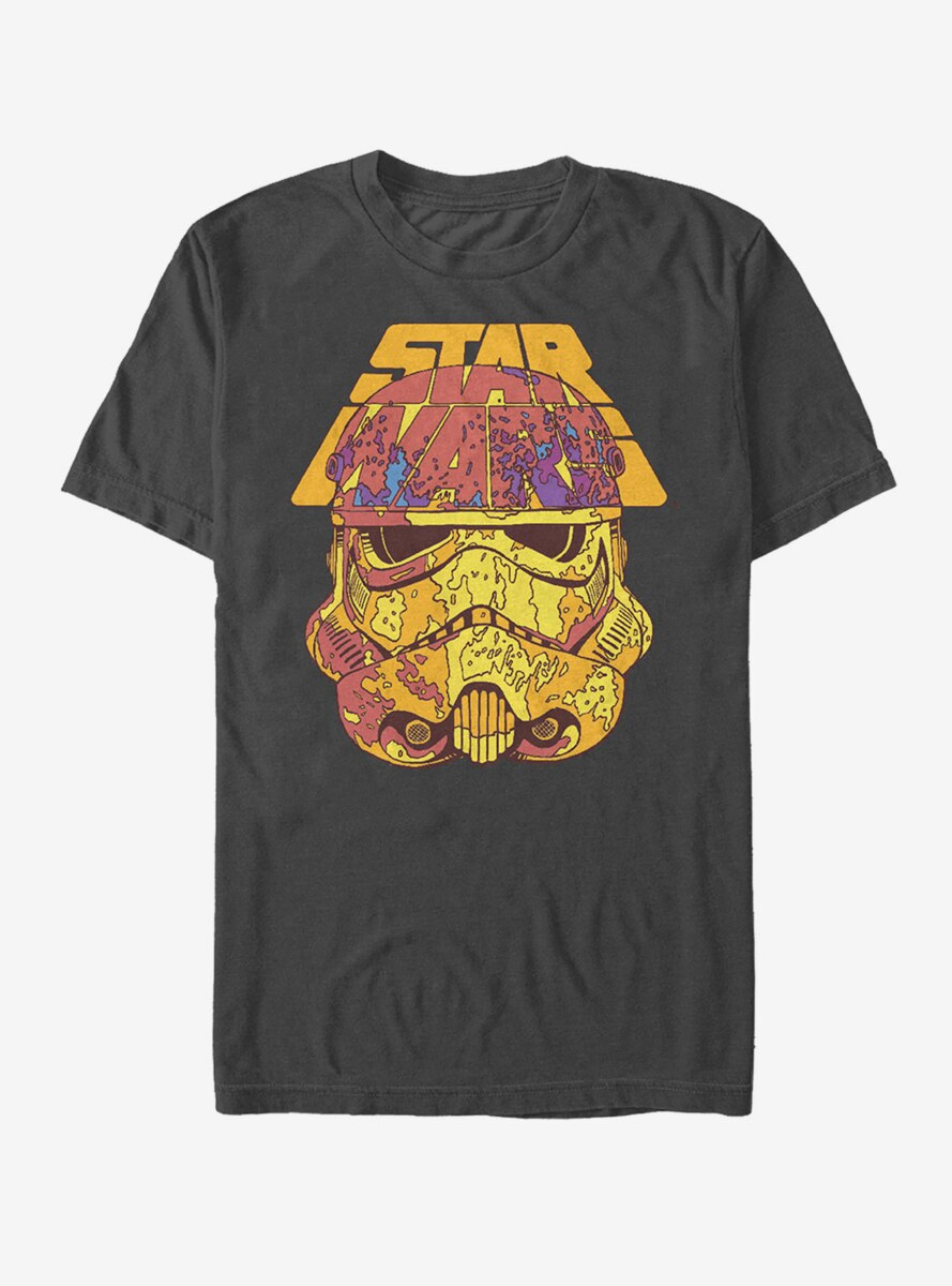 Star Wars Mottled Stormtrooper Helmet T-Shirt