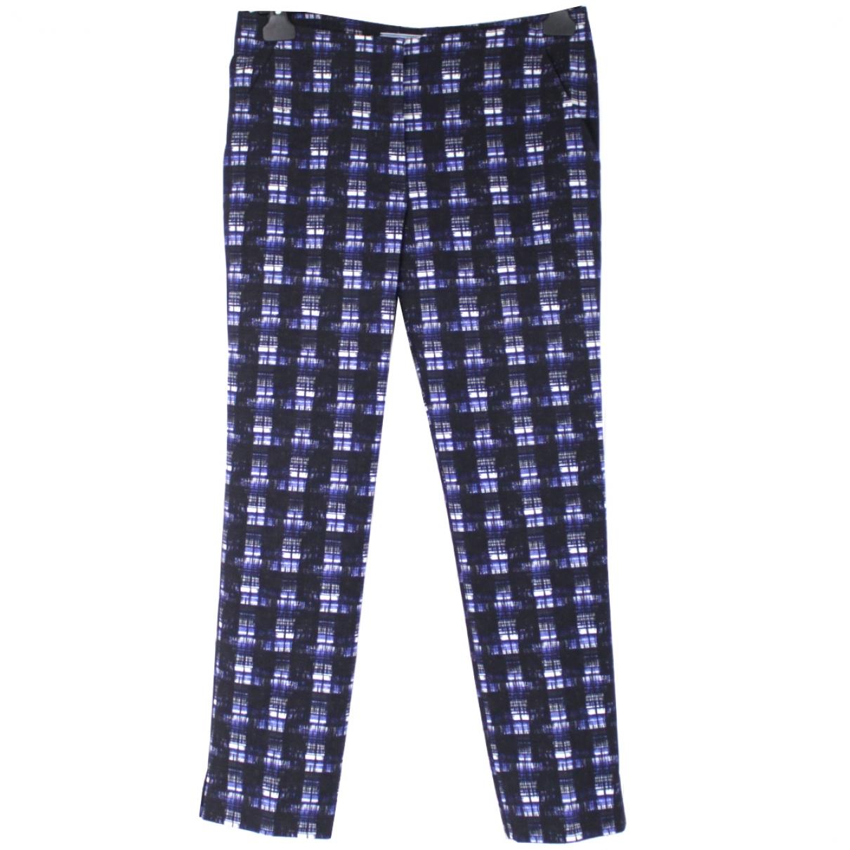 Prada \N Multicolour Wool Trousers for Women 38 IT