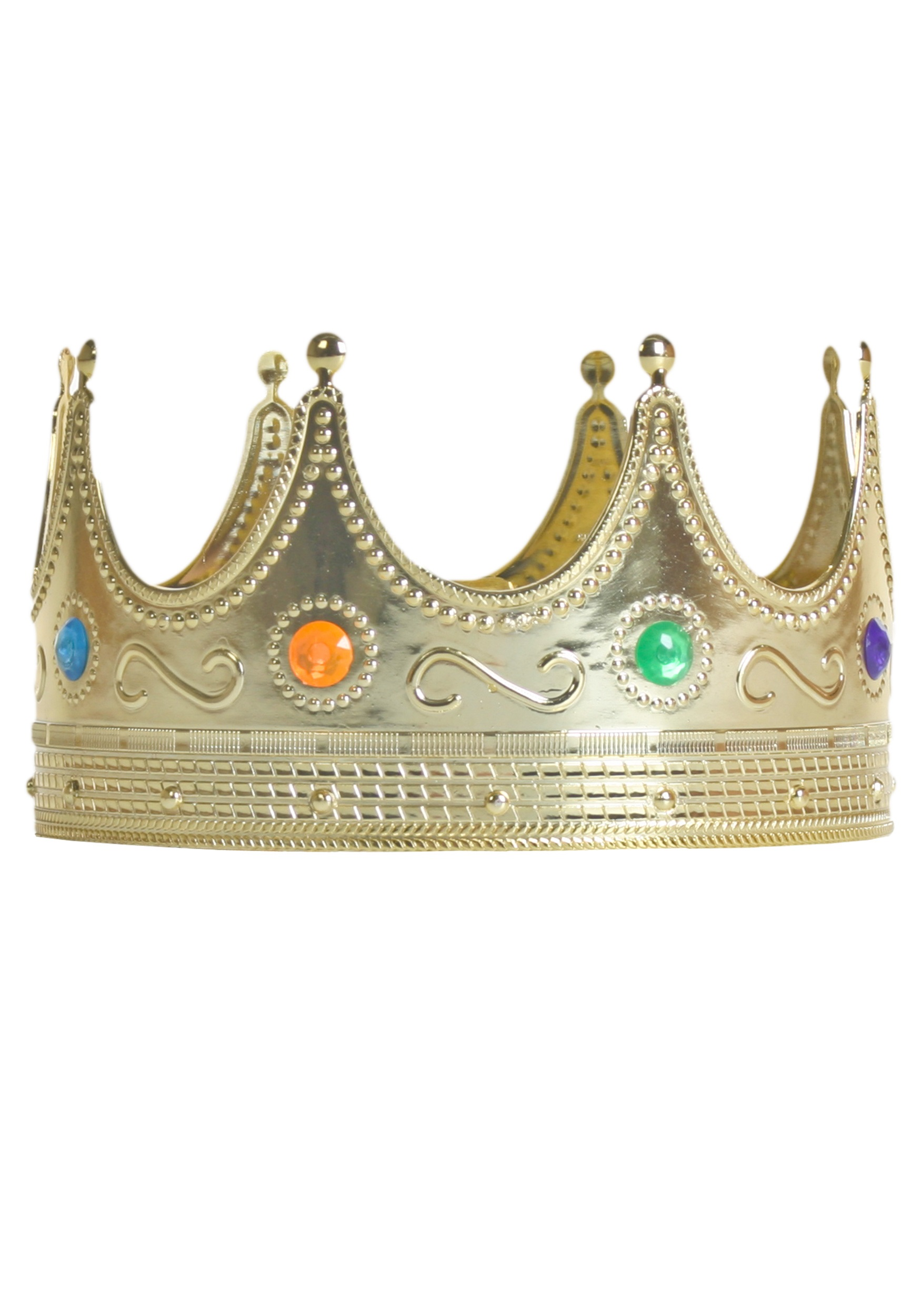 Royal Jeweled Crown for Adults