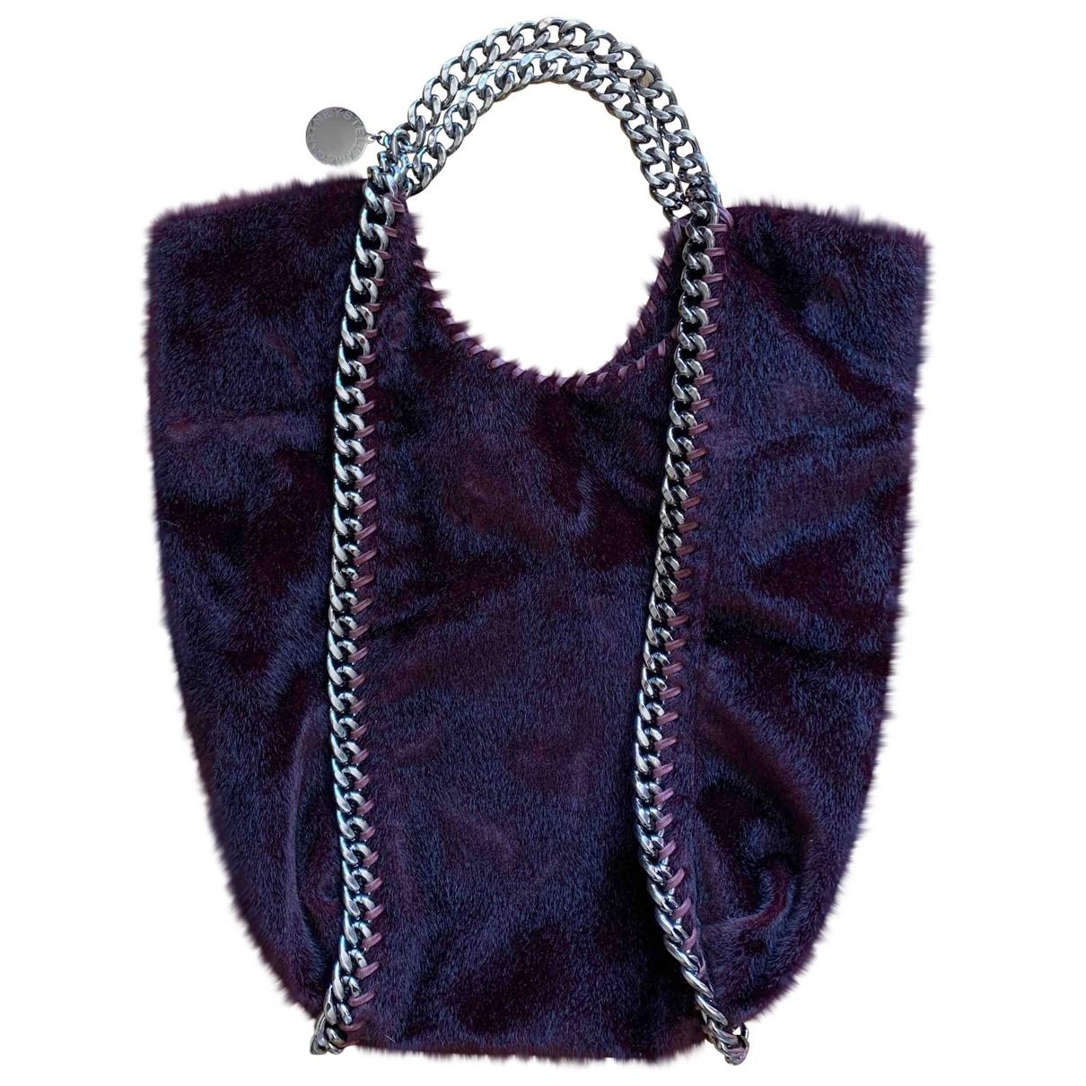 Stella Mccartney - Sac a main Falabella pour femme en toile - violet