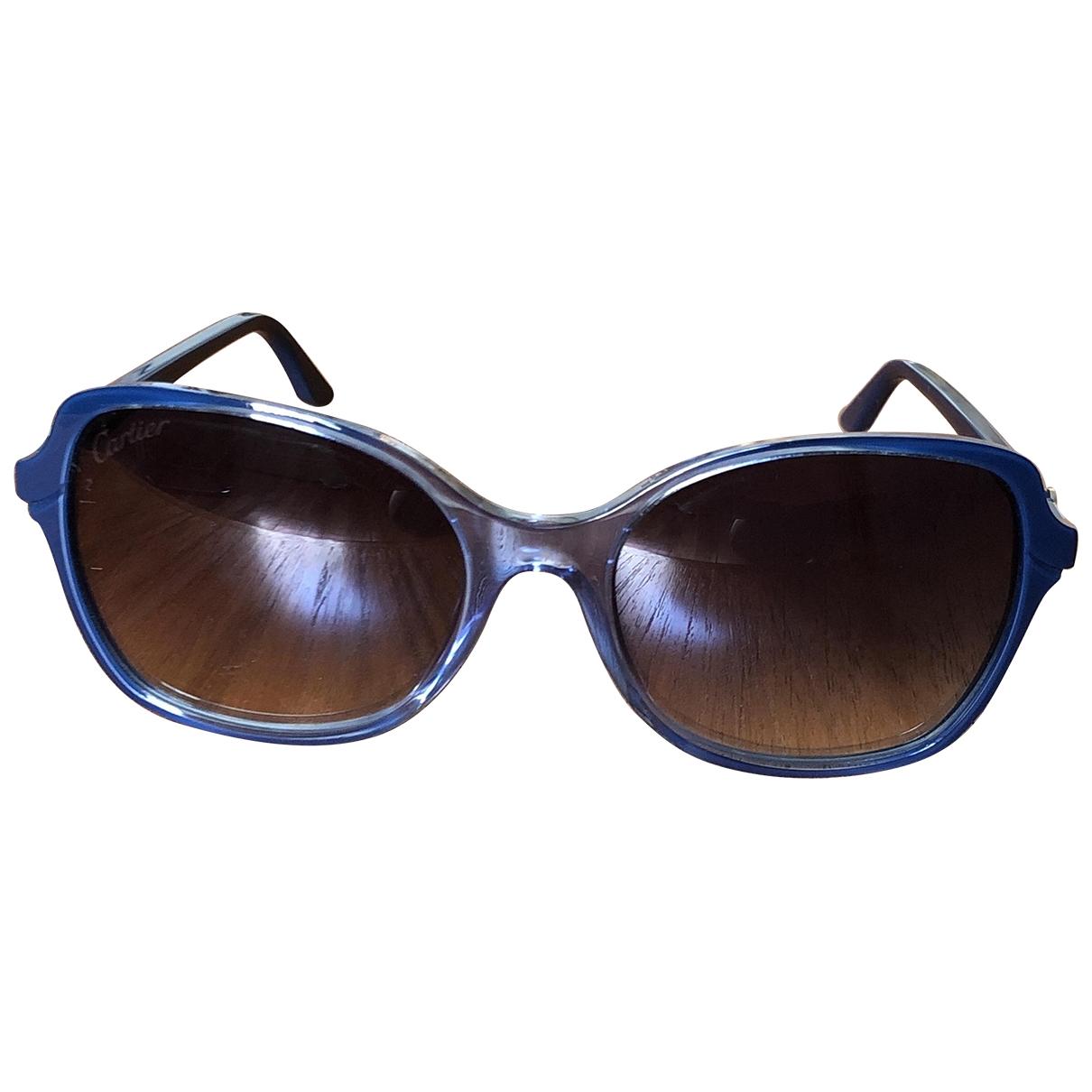 Gafas oversize Cartier