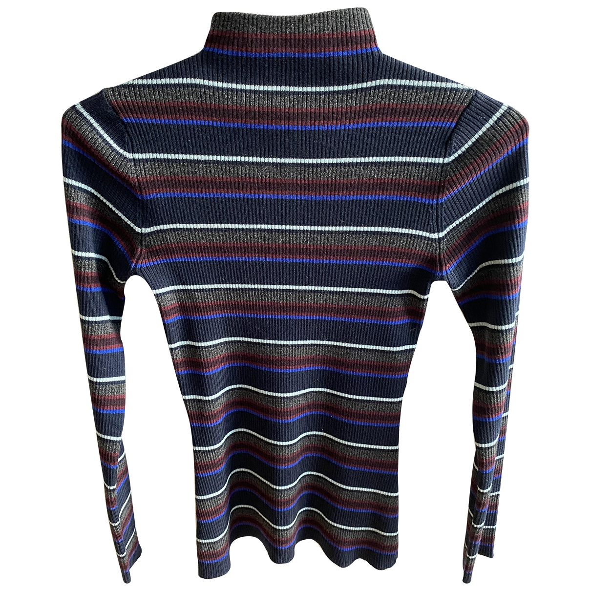 T By Alexander Wang \N Pullover in  Bunt Wolle
