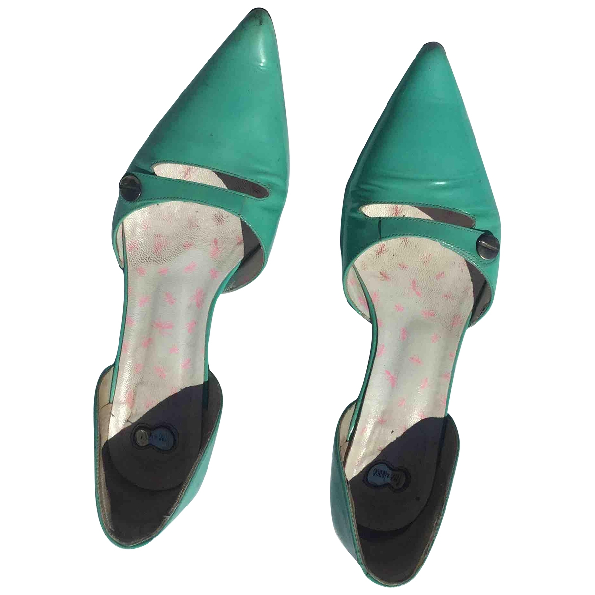 Free Lance \N Turquoise Patent leather Heels for Women 39 EU