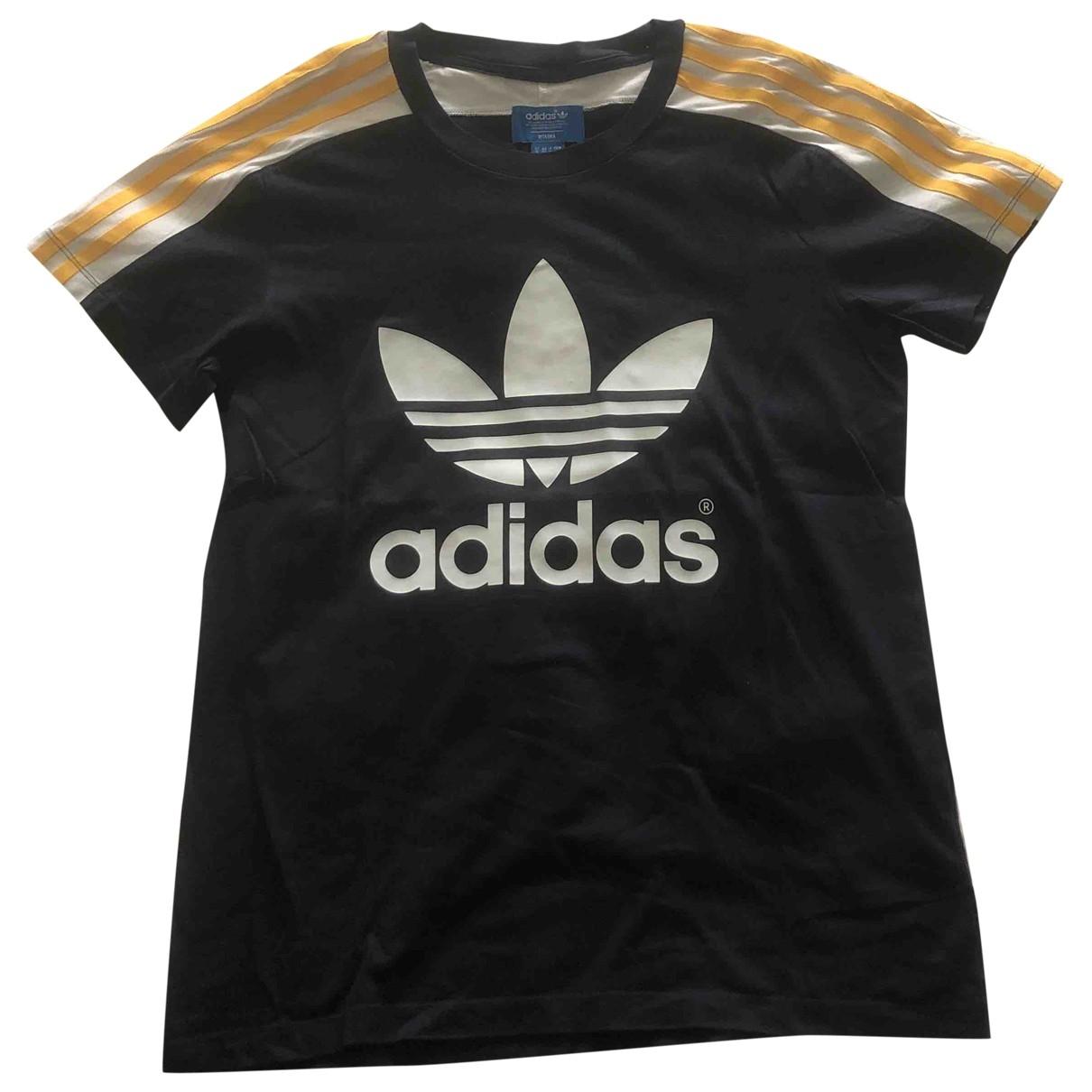 Adidas - Top   pour femme en coton - bleu