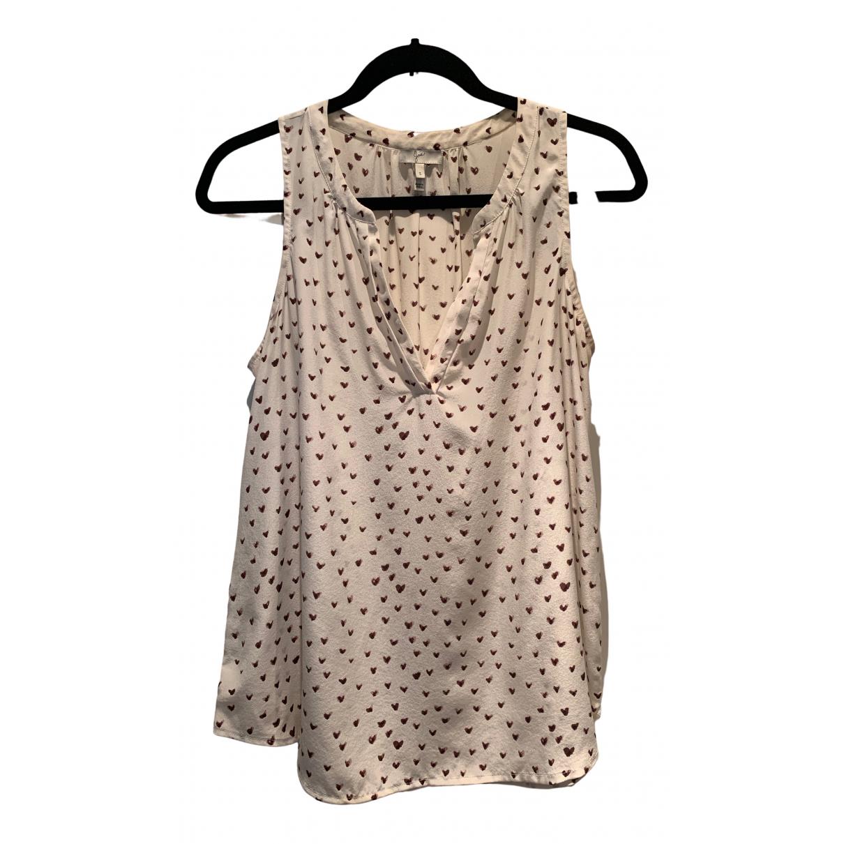 Joie \N Ecru Silk  top for Women S International