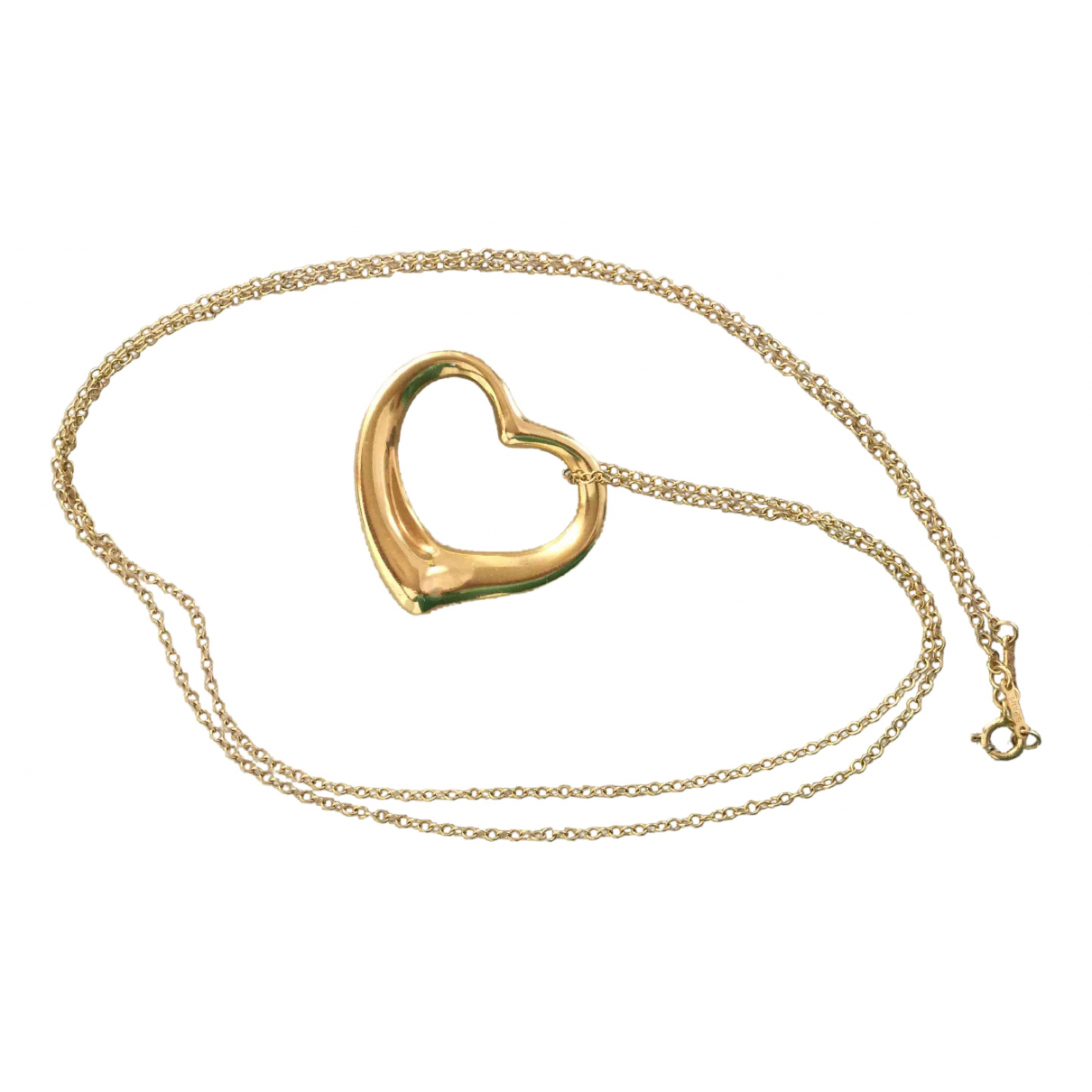 Tiffany & Co Elsa Peretti  Yellow Yellow gold pendant for Women \N