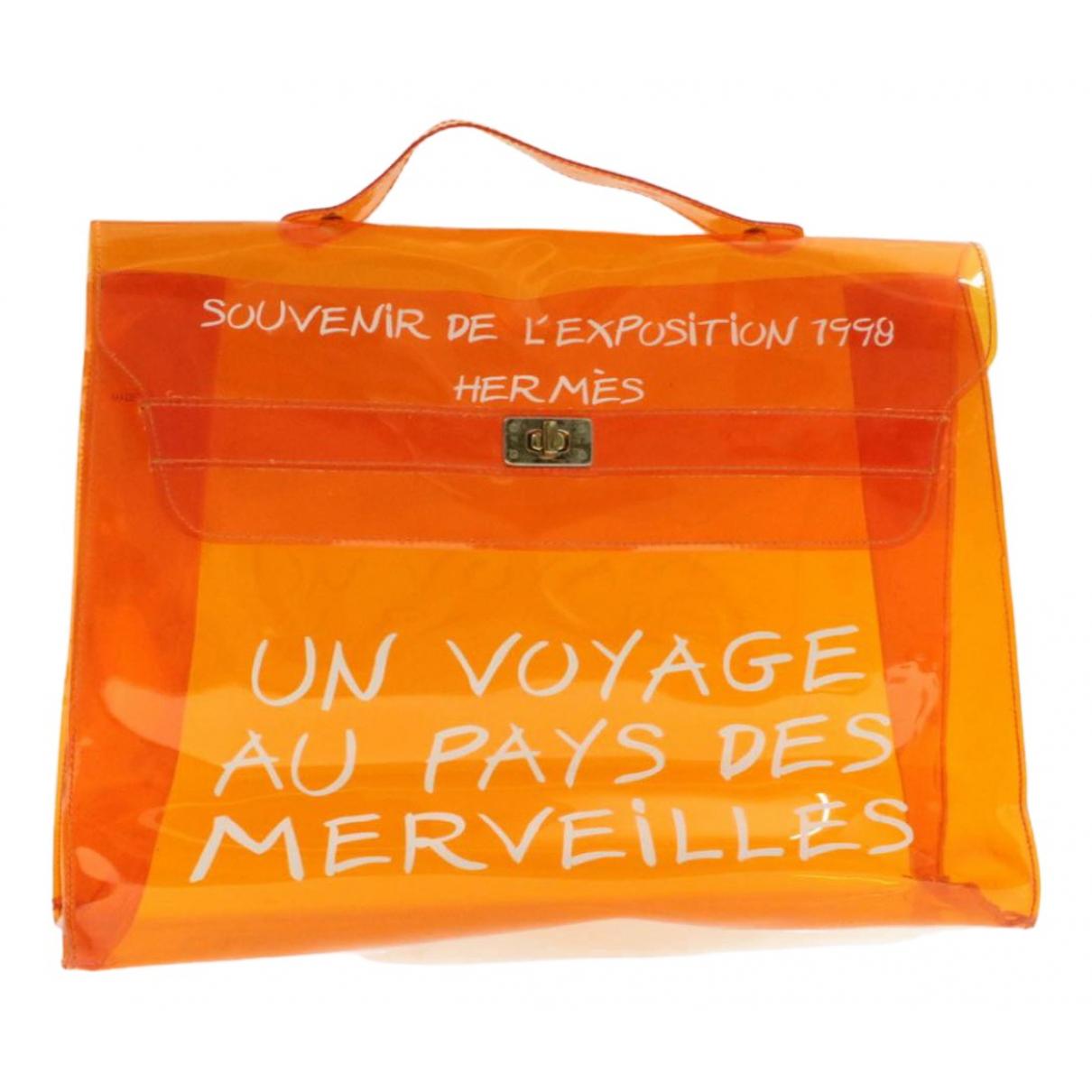 Hermes \N Handtasche in  Orange Kunststoff