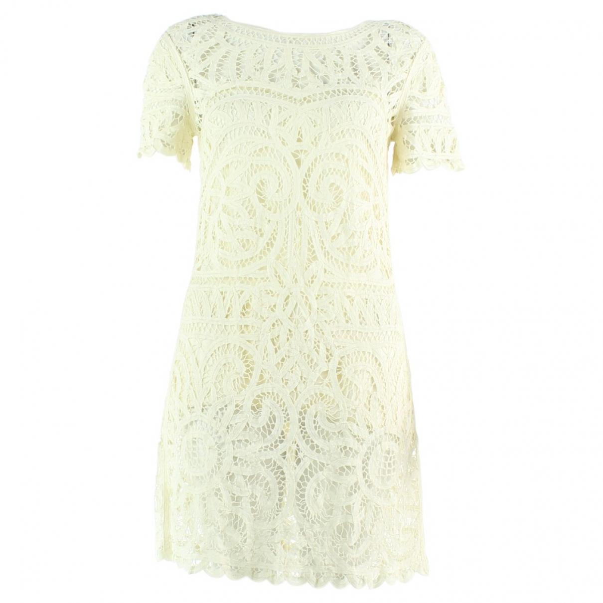 Sea New York - Robe   pour femme en coton - ecru