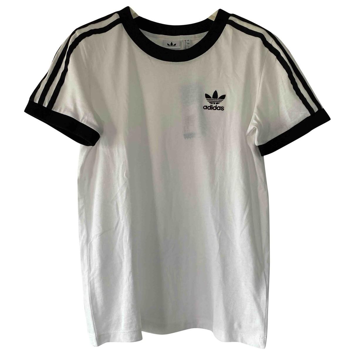 Adidas \N Top in  Weiss Baumwolle