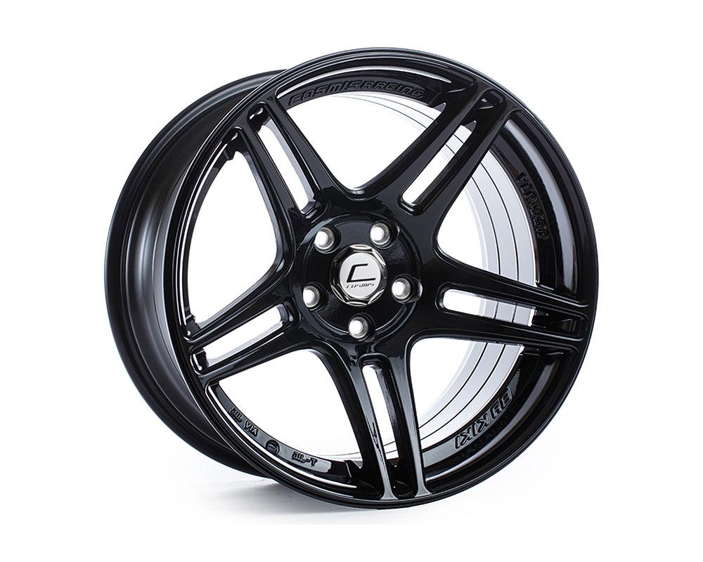 Cosmis Racing S5R-1710-22-5x114.3-B S5R Wheel 17x10 5x114.3 +22mm Black