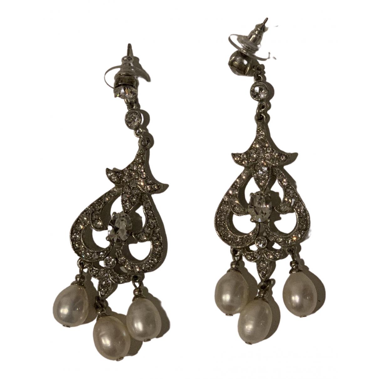 Ben-amun \N Silver Metal Earrings for Women \N