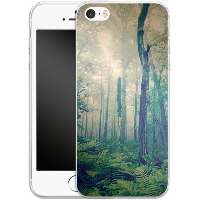 Apple iPhone 5s Silikon Handyhuelle - Walk To The Light von Joy StClaire