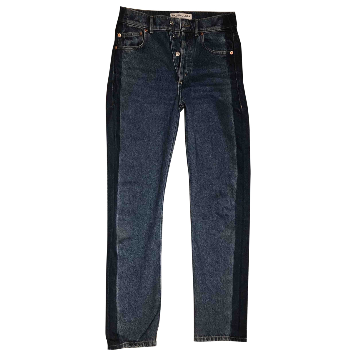 Balenciaga \N Blue Denim - Jeans Jeans for Women 24 US