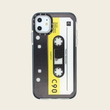 Magnetic Tape Pattern iPhone Case