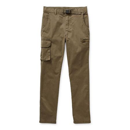 Arizona Little & Big Boys Straight Jogger Pant, 4 , Green