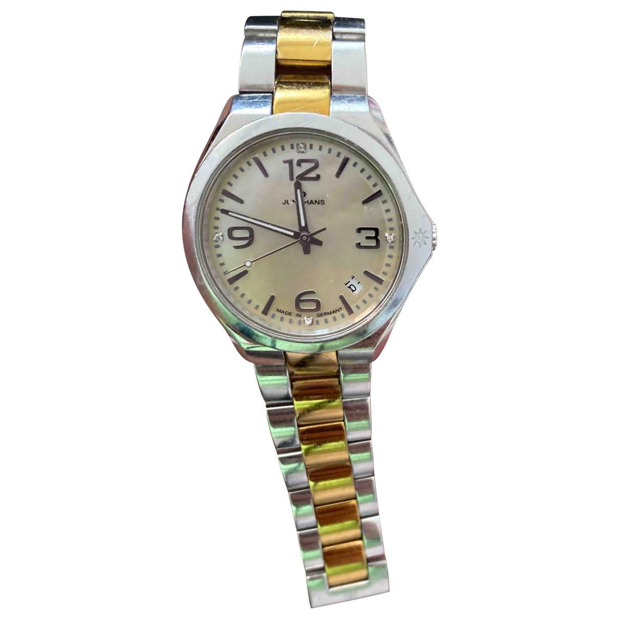 Junghans \N Uhr in  Metallic Stahl