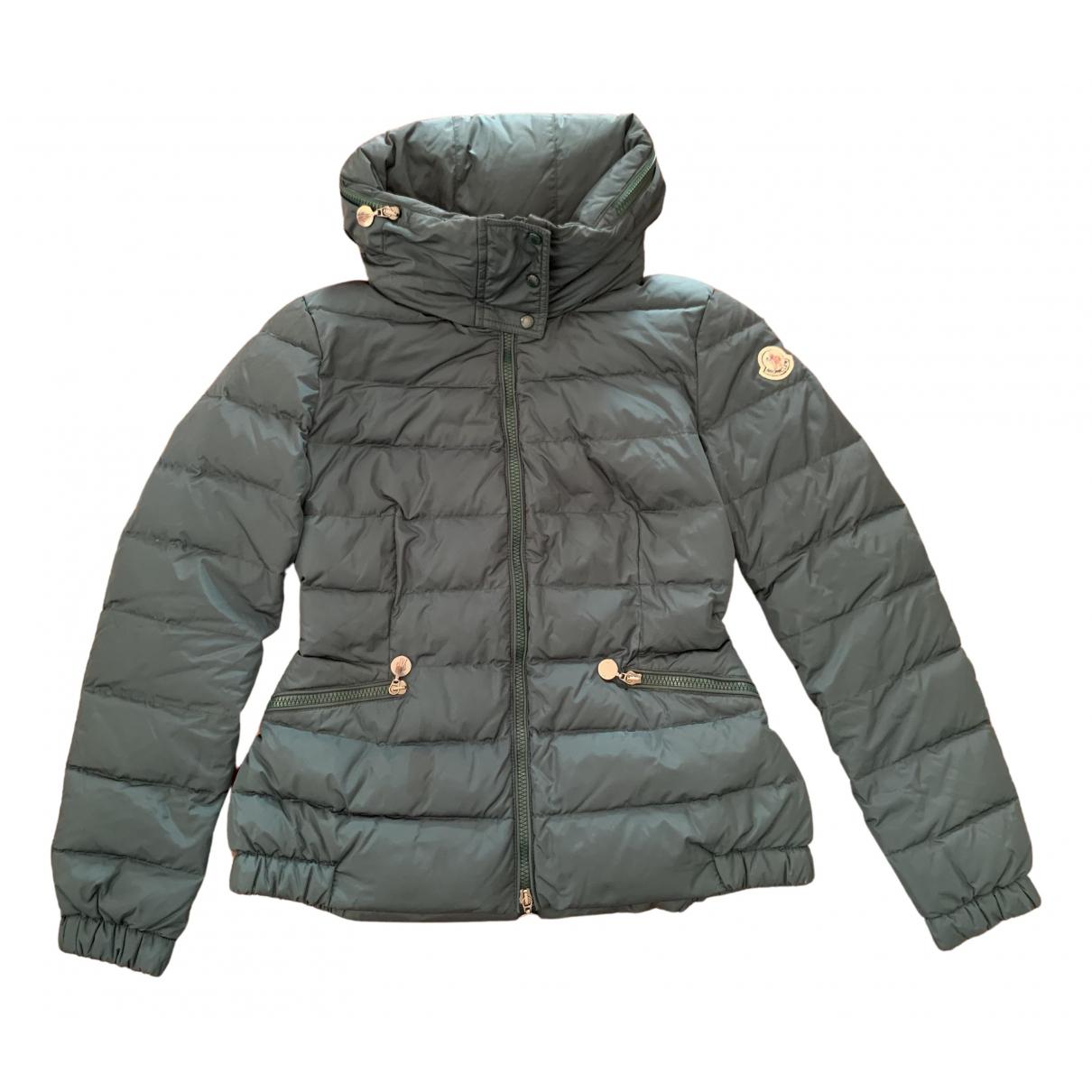 Moncler Hood Green jacket for Women 1 0-5