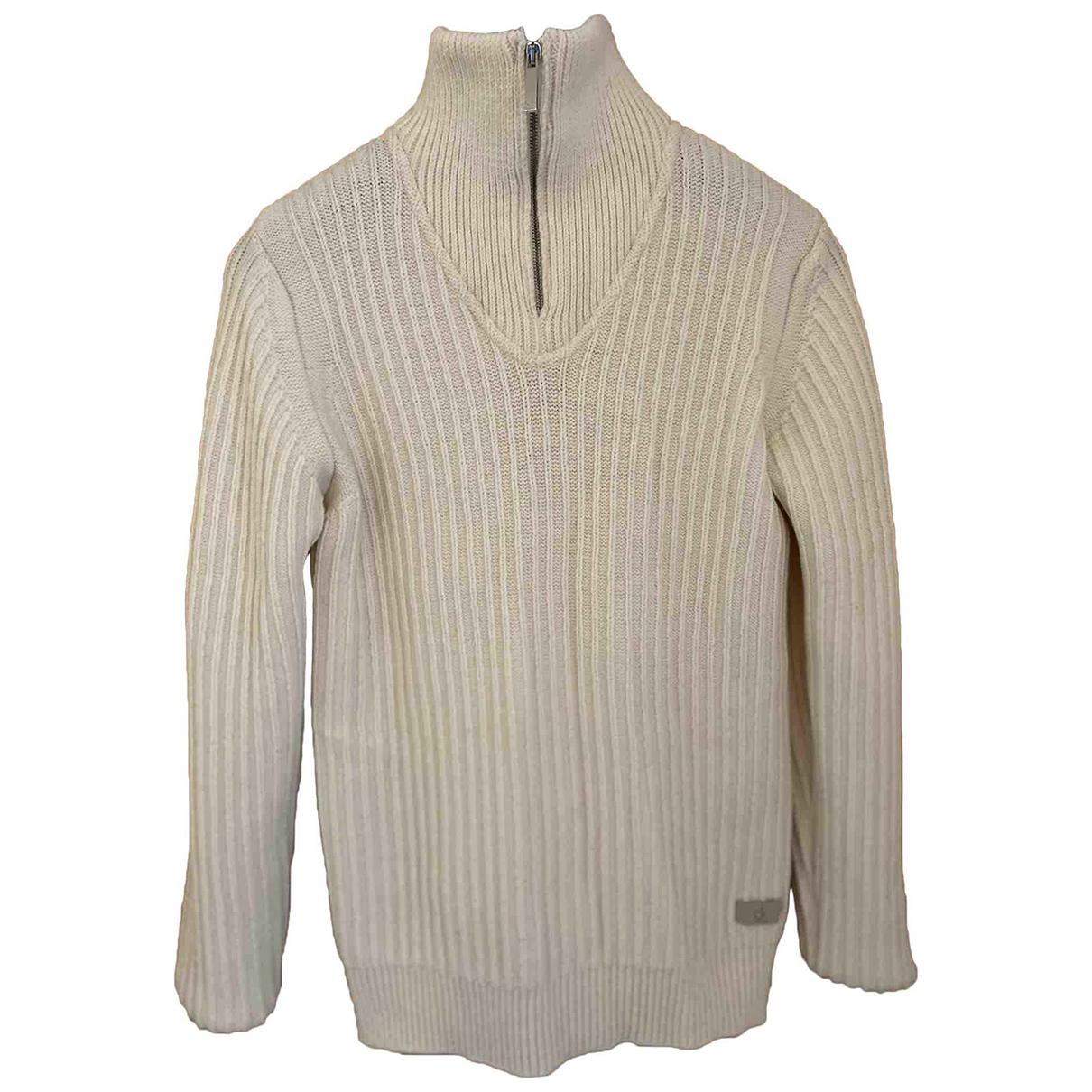 Calvin Klein - Pulls.Gilets.Sweats   pour homme en laine - beige