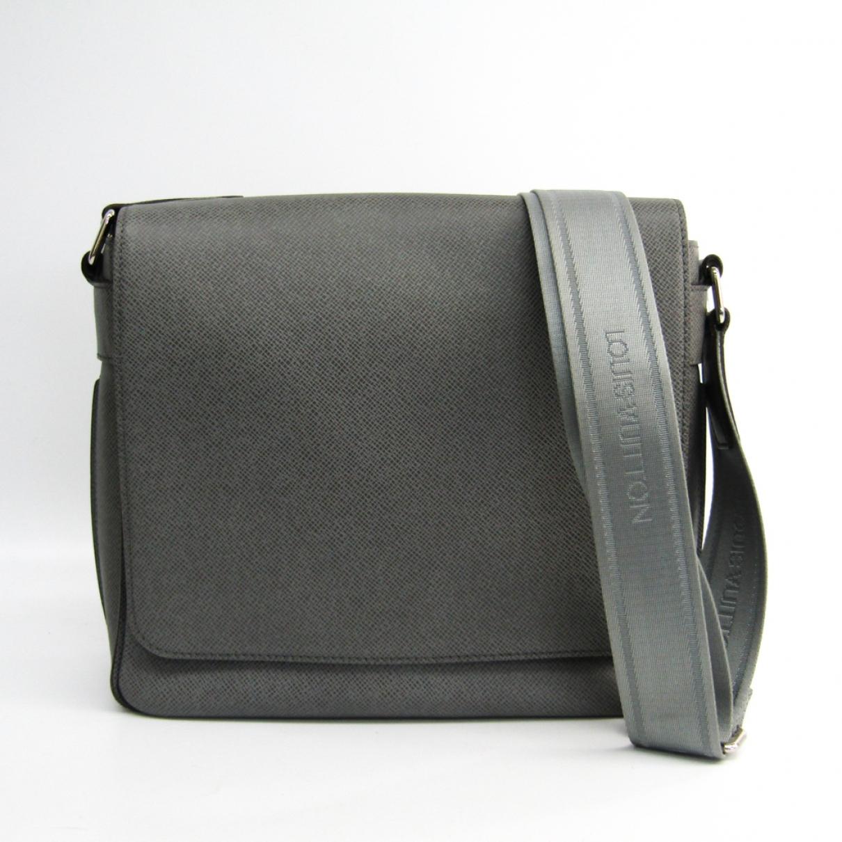 Louis Vuitton Roman Anthracite Cloth bag for Men \N